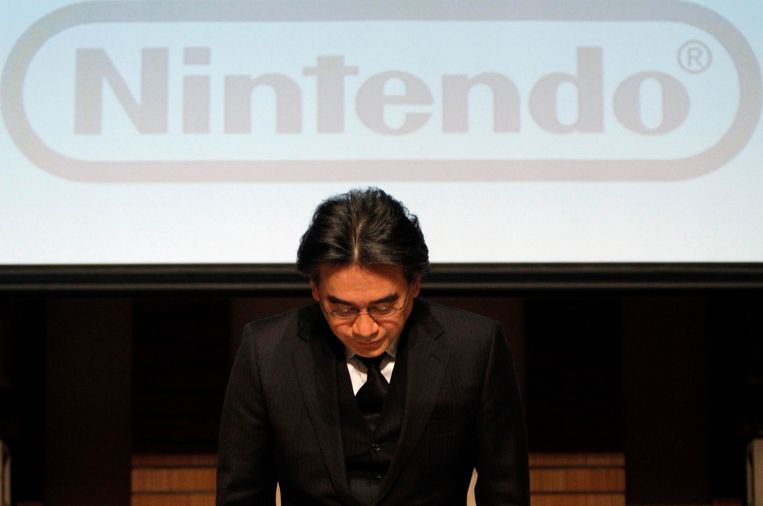 Nintendobaas Satoru Iwata