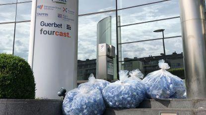 1.446 flesjes van 20 km door Brussel teruggestuurd naar Spa