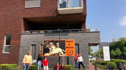 Familiefeest onmogelijk? Emiel (88) en Maria (87) vieren briljanten jubileum vanop balkon in rusthuis De Meers