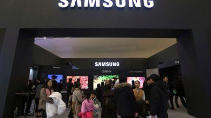 Winst van Samsung halveert door handelsconflict