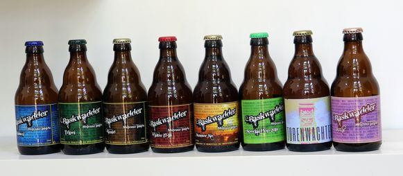Jorge Leysen brouwt verschillende bieren.