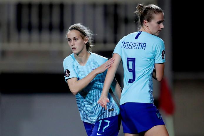 Katja Snoeijs vervangt Vivianne Miedema