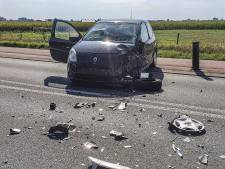 Auto en vrachtwagen botsen op elkaar in Babberich