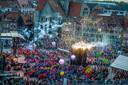 De openingsceremonie vorig jaar in Doornik.
