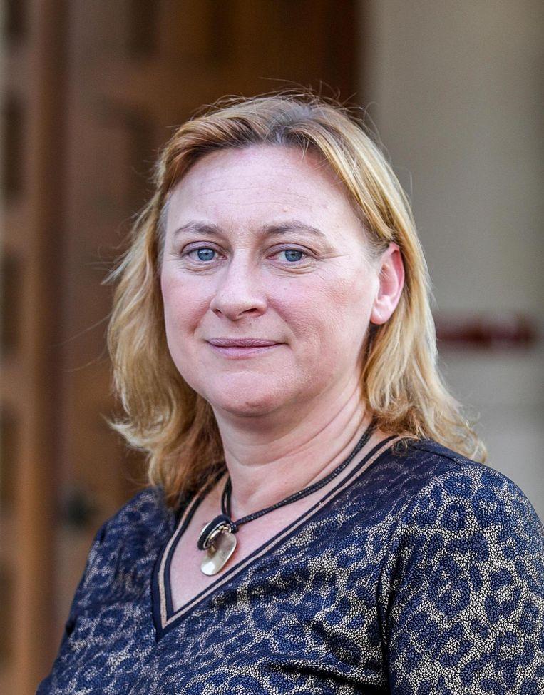 Nieuwe burgemeester Daphné Dumery.