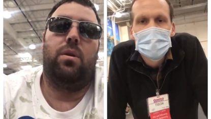 Klant zonder mondmasker wil berispende supermarktmedewerker te kijk zetten op sociale media, het draait helemaal anders uit
