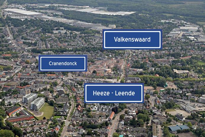 Cranendonck, Heeze-Leende en Valkenswaard denken na over een bestuurlijke fusie.