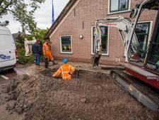 Twintig huishoudens in Benschop zonder water na knappen grote waterleiding