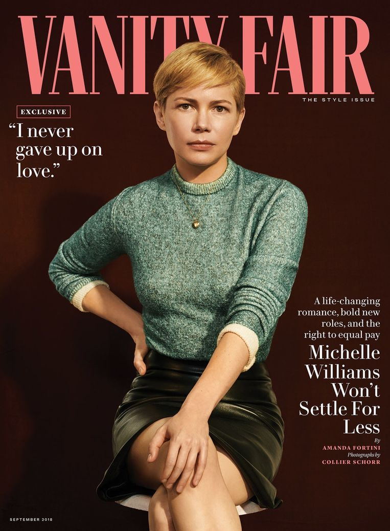 Michelle Williams Beeld Vanity Fair