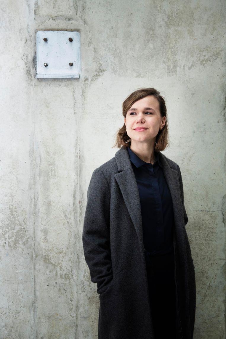 Sarah Boers: 'Wat, als kunstmatige intelligentie slimmer wordt dan wij?' Beeld Kiki Groot