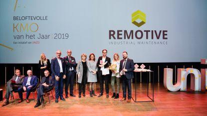 Remotive wint titel 'Beloftevolle KMO van het jaar'