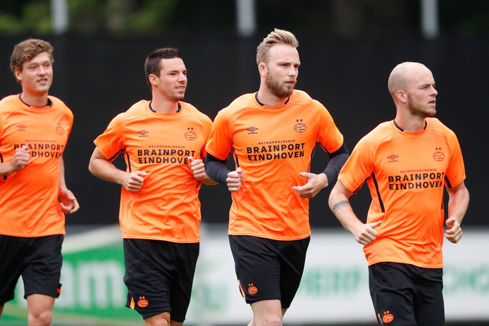 De PSV'ers startten afgelopen week met hun trainingen voor komend seizoen.