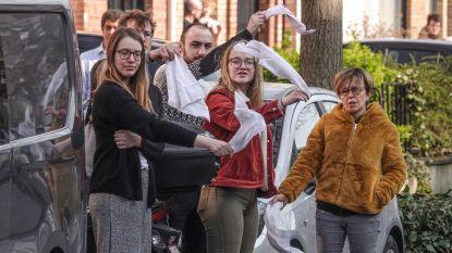 Buren wuiven overleden Francine (91) massaal uit, omdat ze niet naar begrafenis kunnen