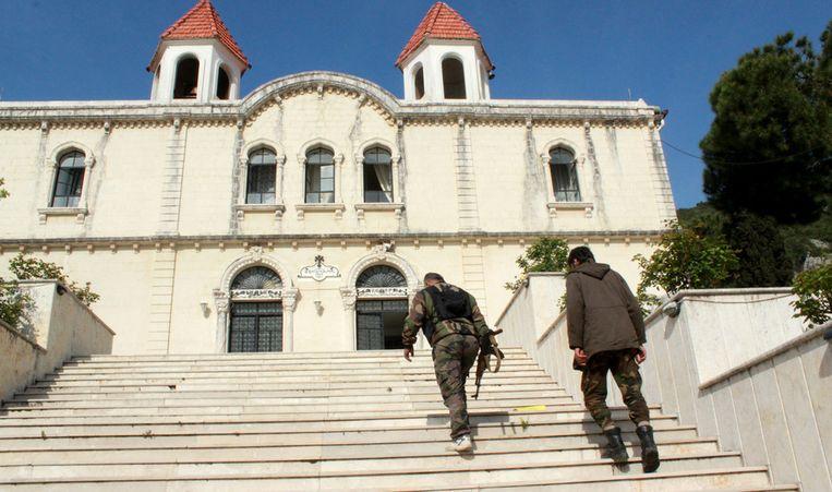 De Syrische kustplaats Kassab werd vorige maand door rebellen ingenomen. Beeld getty