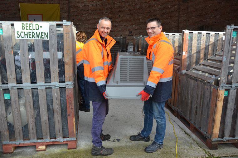 Het gemeentebestuur overweegt om het recyclagepark te verhuizen.