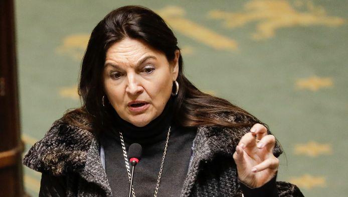 Marie-Christine Marghem, ministre fédérale de l'Énergie.