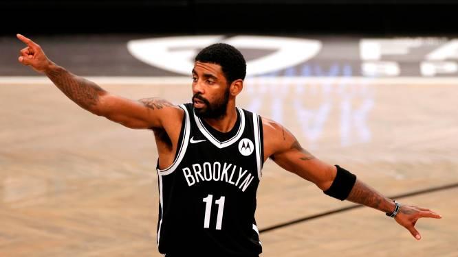 Duur coronafeestje: NBA-ster Kyrie Irving krijgt boete van 720.000 euro