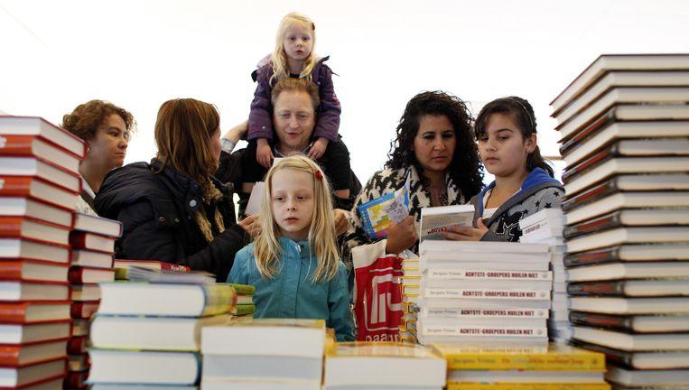 Archieffoto kinderboekenweek Beeld anp