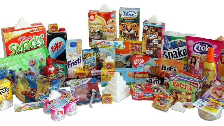 Film- en stripfiguren gaan verdwijnen van verpakkingen van ongezond voedsel. Beeld Foodwatch