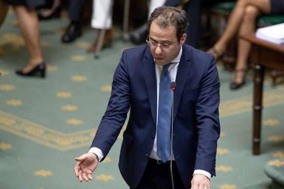 MR-minister van Begroting David Clarinval.