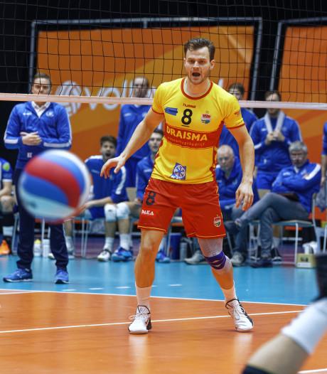 Volleyballer De Weijer uit Berkel-Enschot 'doodziek' na verlies in bekerfinale met Dynamo