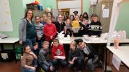 Leerlingen Wilgenduin baten 'Het Gouden Frietje' uit