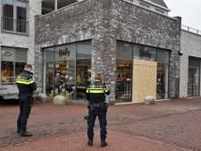 Ramkraak op kinderkledingzaak Qiëlly in Berkel-Enschot, gestolen kleding waait uit kofferbak