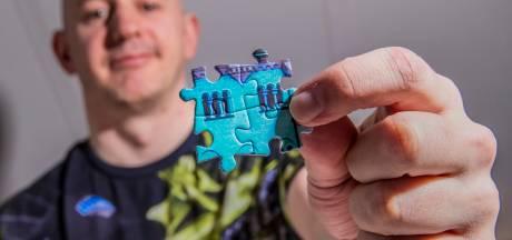 Harderwijker legt puzzel van 48.000 stukjes: 'Puzzelen is zen'