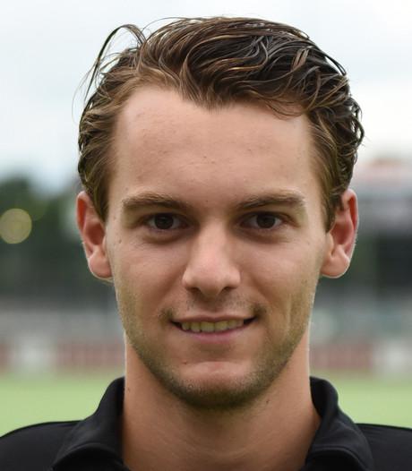 Doelman Rolf Diederen pakt punt voor Breda