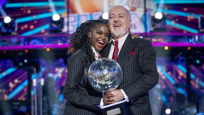 Oti Mabuse en Bill Bailey.
