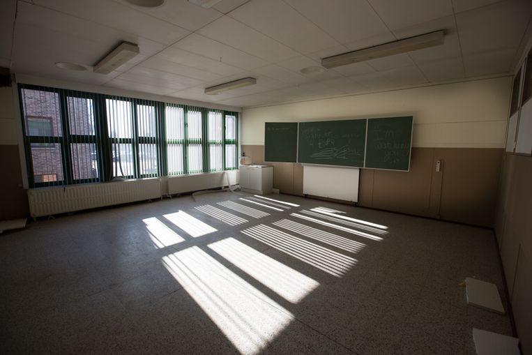 De klas van juf Germaine ( 6de leerjaar).