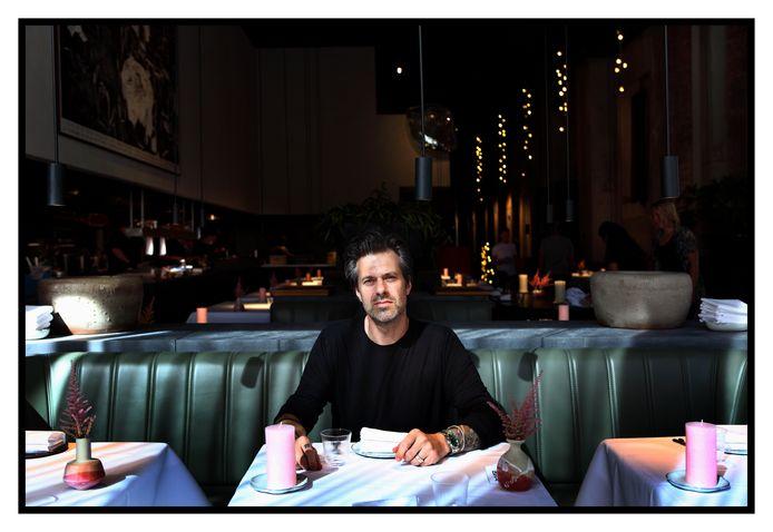 Sergio Herman in zijn restaurant Le Pristine.