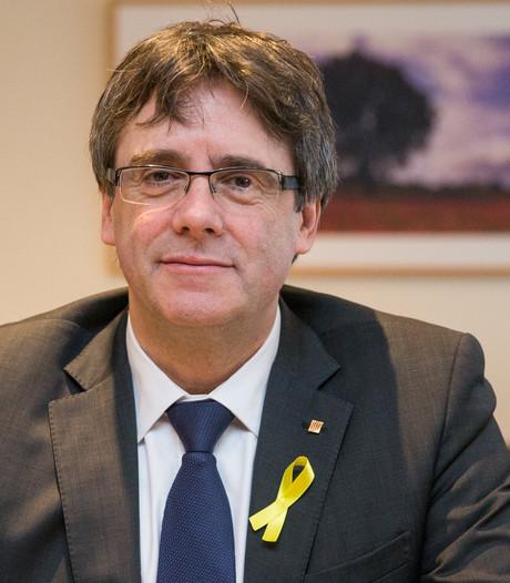 Spanje wil arrestatie Puigdemont als hij naar Denemarken reist