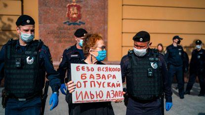 Russisch gerecht arresteert journalist voor eenmansprotest tijdens coronalockdown