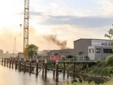 Containerbrand Baanhoekweg Dordrecht snel onder controle
