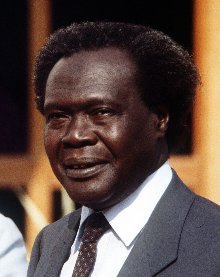 Milton Obote. Beeld anp