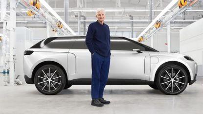 Dyson toont voor het eerst geflopte elektrische auto
