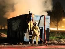 Brandweer rukt uit voor hooibrand in Máximapark