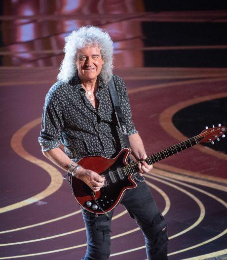 Queen-gitarist Brian May getroffen door een hartaanval