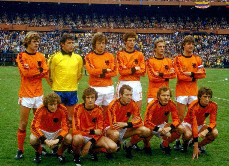 Oranje in de finale van 1978 Beeld anp