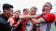 Wat een ontlading! Oude krijger Dirk Kuyt schenkt Feyenoord met hattrick eerste titel sinds 1999!