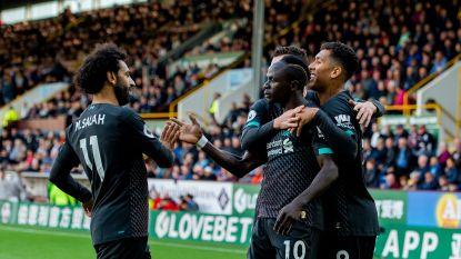 Liverpool boekt makkelijke zege tegen Burnley en pakt 12 op 12