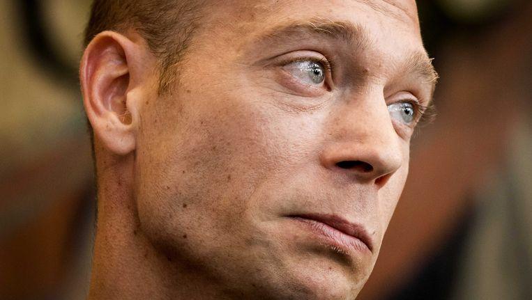 Yuri van Gelder tijdens de rechtszaak.