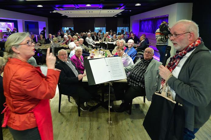 Alle aanwezigen in de Raayberg vierden dit jaar hun 60-jarig huwelijksfeest.