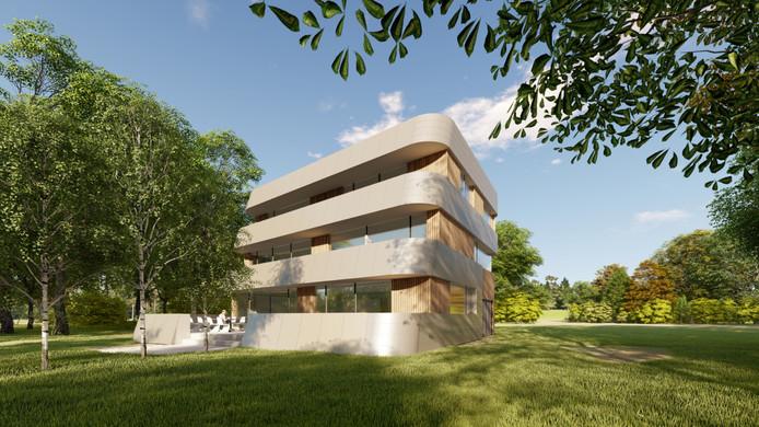 Een impressie van het Premium PassiefHuis in Etten-Leur: het toekomstige kantoor van de Stichting PassiefBouwen