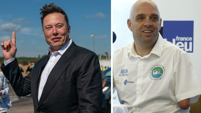 Elon Musk et Philippe Croizon.