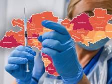 CORONAKAART | Twee doden in Rheden, piek in Druten en Zevenaar; landelijk stagnatie in afname besmettingen