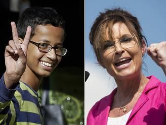 """Sarah Palin richt pijlen op aangehouden whizzkid: """"Als dat een klok is, ben ik de Queen"""""""