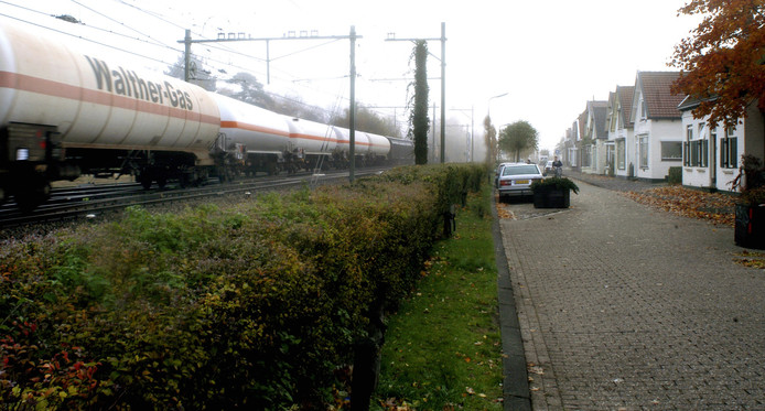 Aan de Willem Zelleweg in Goes komen schermen van een meter hoog.