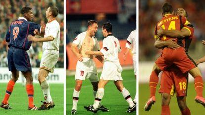 Hoe de ongeslagen reeks van Rode Duivels tegen Oranje tot stand kwam: rode Kluivert, een doelpuntenkermis en de start van het huidige succes
